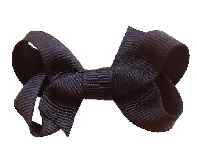 Baby bows - black hair bow, hair bows, bows, hair clips, hair bows for girls, baby hair bows, baby girls bows, baby hair clips, hairbows