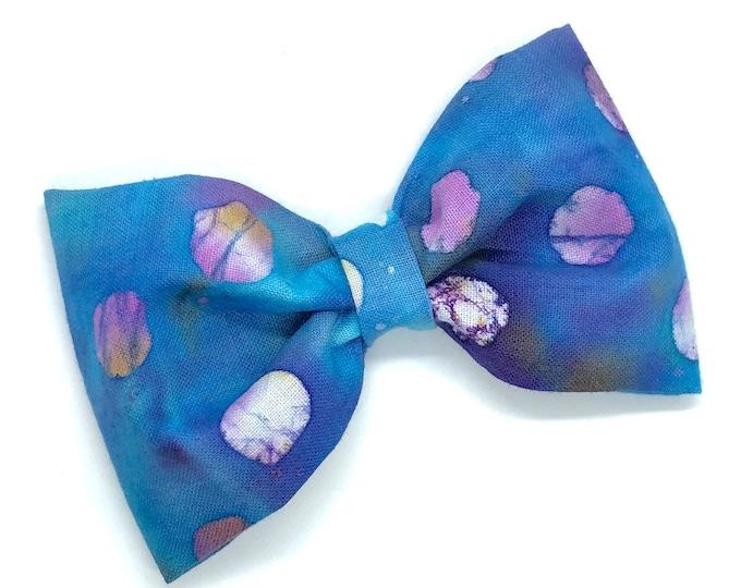 Fabric hair bow - fabric bows, hair bows, baby headband, baby headband bows, girls hair bows, hair bows for women