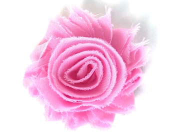 Flower hair clip - Pink flower hair clip, hair clips, hair bows, hair bows for girls, baby bows, hair clips for girls, baby hair clips