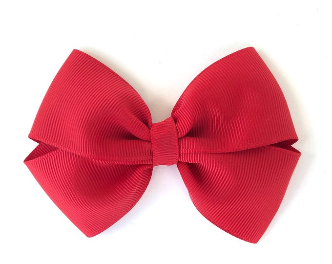 YOU PICK color hair bow - 4 inch hair bows, hair bows, girls bows, baby bows, girls hair bows, boutique bows, toddler bows, hair bow, bows