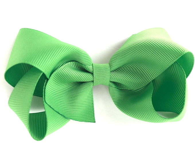 Girls hair bow - hair bows, boutique hair bows, girls bows, toddler hair bows, 4 inch hair bows, big bows