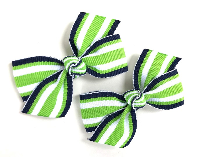 Pigtail bows - hair bows, bows for girls, baby bows, baby hair bows, girls bows, toddler bows, small bows
