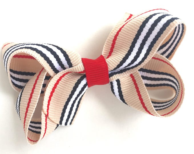 Girls hair bow - hair bows, bows for girls, baby bows, baby hair bows, toddler hair bows, pigtail bows, boutique bows