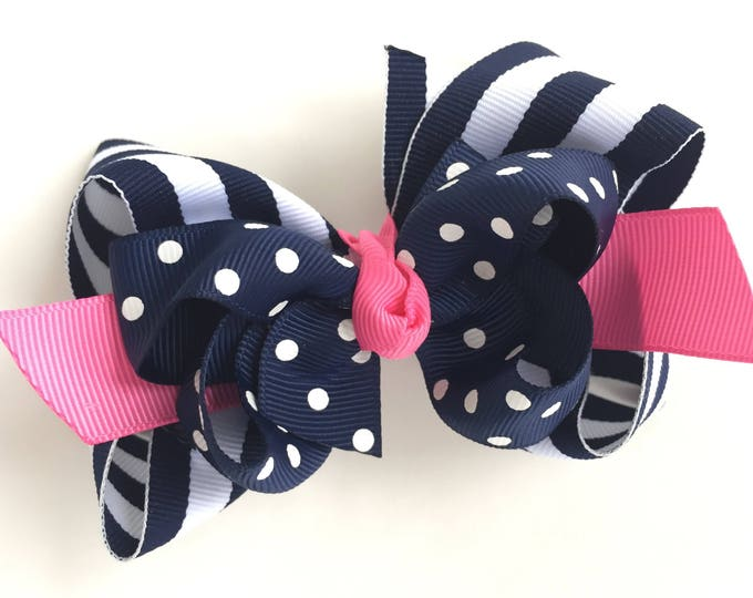 Girls hair bow - hair bows, bows, hair bows for girls, baby bows, hair clips, boutique hair bows, toddler bows, big hair bows, hairbows