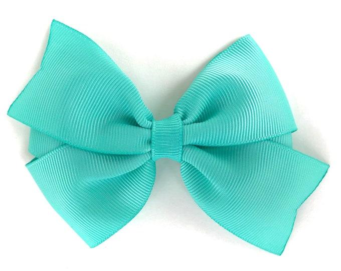 Tropic hair bow - hair bows, bows for girls, baby bows, girls hair bows, toddler hair bow, 4 inch hair bows