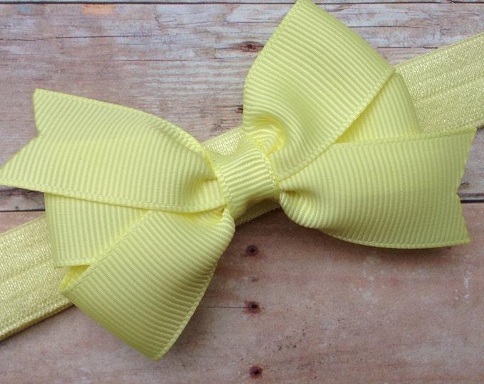 Baby headband - baby headband bows, newborn headband, baby bows, headbands baby girl, hair bows