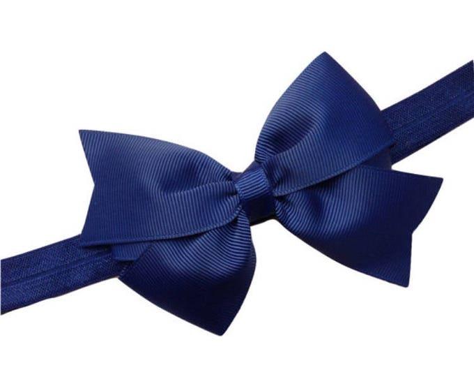 YOU PICK color baby headband - baby headband bows, baby bows, baby headbands, newborn headbands, baby girl headbands, baby bow headbands