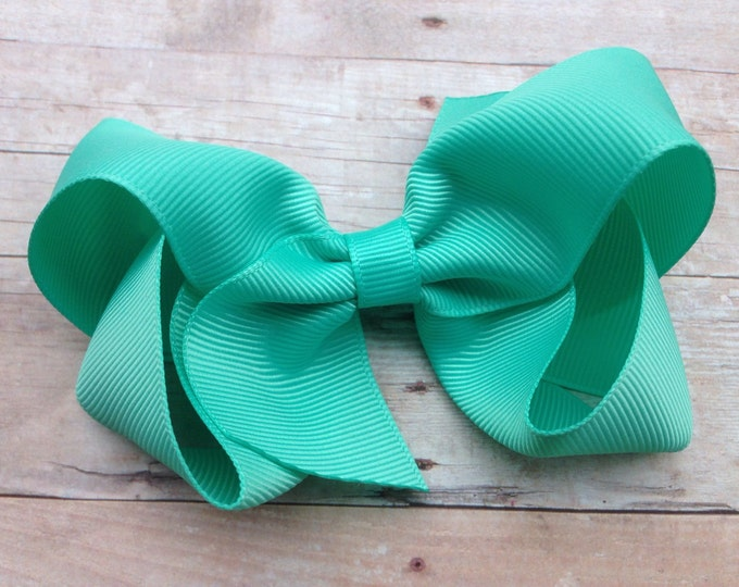 Tropic hair bow - hair bows for girls, toddler hair bows, baby bows, girls hair bows, boutique bows, 4 inch hair bows