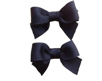 Pigtail bows - hair bows, bows, hair clips, hair bows for girls, baby bows, baby hair bows, toddler bows, baby girl bows, baby hair clips