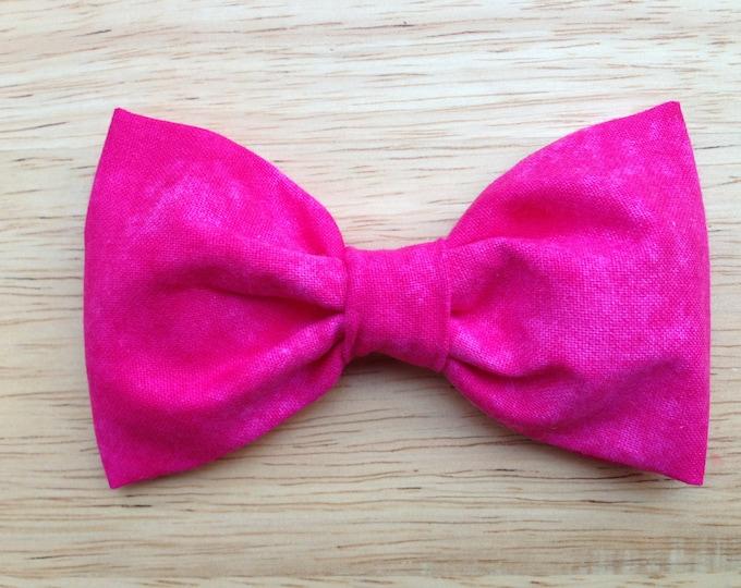 Fabric hair bow - fabric bows, hair bows, bows for girls, hairbows, hair bows for teens, girls hair bows, hair bows for women