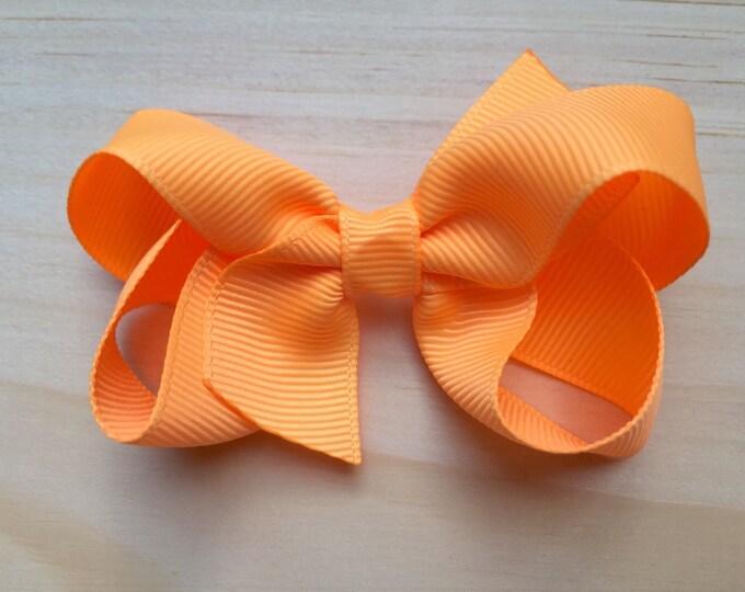 Girls hair bow - hair bows, girls bows, baby bows, toddler bows, pigtail bows, boutique bows