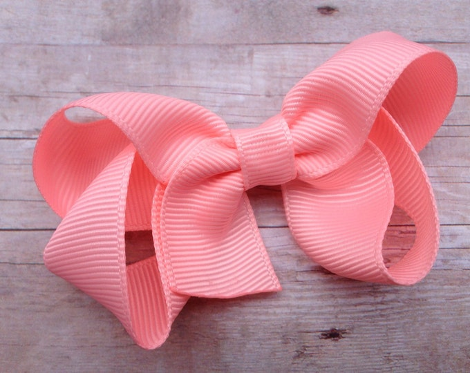 Girls hair bow - Cotton Candy - hair bows, bows, hair clips, hair bows for girls, baby bows, pigtail bows, toddler hair bows, hairbows