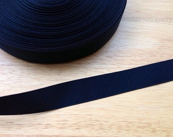5 yards 7/8 inch black grosgrain ribbon - black ribbon, grosgrain ribbon, hair accessories, bow supplies