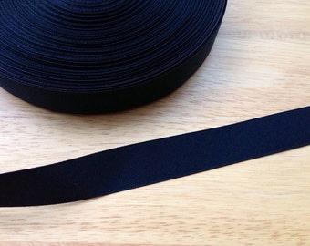 5 yards 7/8 inch black grosgrain ribbon - black ribbon, grosgrain ribbon, hair bows, hair accessories, bow supplies