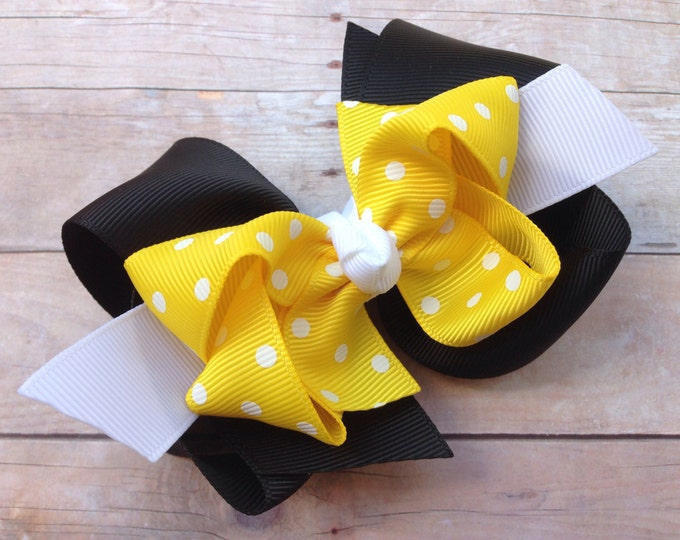 Girls hair bow - hair bows, bows for girls, hair clips, baby bows, toddler hair bows, boutique hair bows, big hair bows