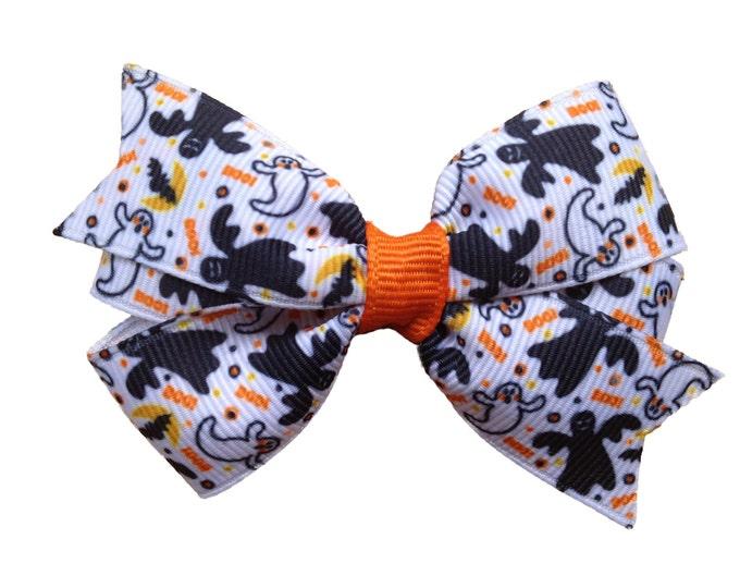 Halloween hair bow - halloween bows, hair bows for girls, girls hair bows, toddler hair bows, baby hair bows, 3 inch hair bows, hairbows
