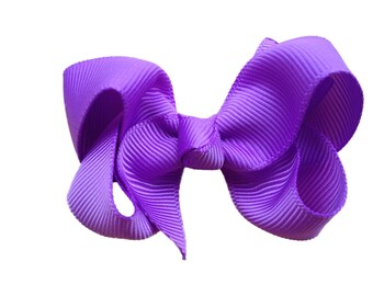 YOU PICK color 2.5 inch hair bow - hair bows, girls bows, baby bows, girls hair bows, toddler bows, small bows, boutique bows, hair bow, bow