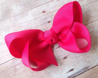Hair bows for girls - 3 inch hair bows, boutique hair bows, toddler hair bows, custom hair bows, baby bows
