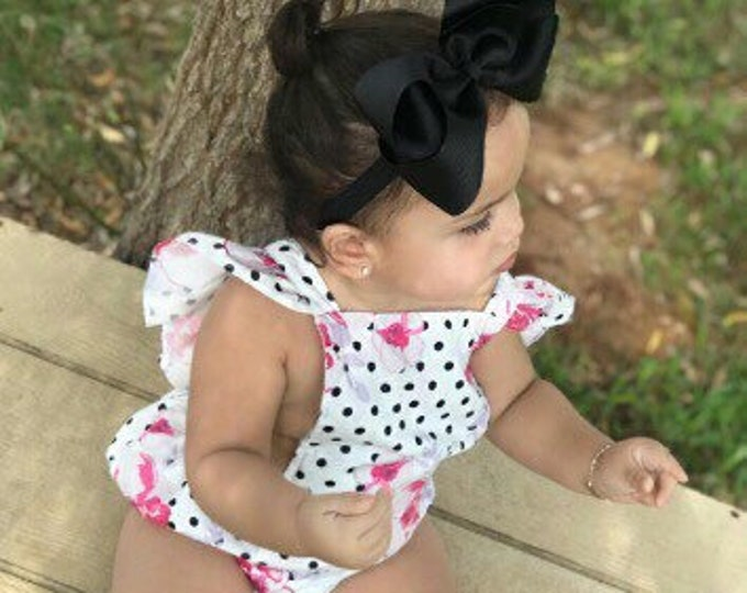 Extra large 6 inch bow headband - 6 inch bows, baby headband bows, big bow headband, large hair bows, headband bows, toddler bows