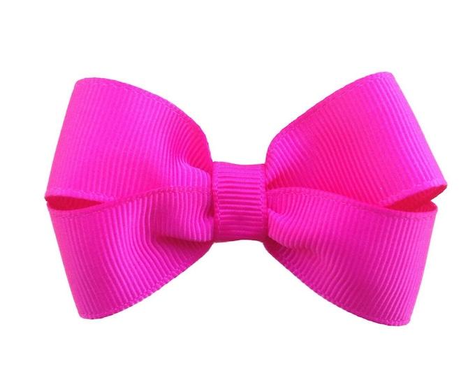 YOU PICK color hair bow - 3 inch hair bows, hair bows, girls bows, baby bows, girls hair bows, boutique bows, toddler bows, hair bow, bows