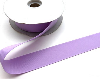 5 yards 1.5 inch light purple grosgrain ribbon - lilac purple, hair accessories, craft supplies
