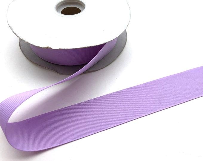 5 yards 1.5 inch light purple grosgrain ribbon - lilac purple, hair accessories, craft supplies