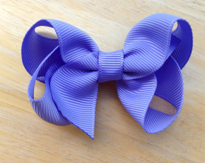 Iris hair bow - hair bows for girls, boutique bows, toddler bows, baby bows, pigtail bows