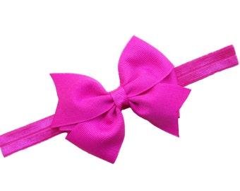 YOU PICK 3 baby headband bows - baby headband set, baby girl headbands, newborn headbands, baby bow headbands, baby bows