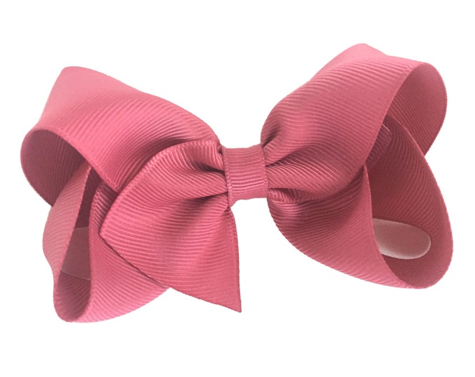 Colonial rose hair bow - hair bows, hair clips, girls bows, hair bows for girls, girls hair bows, toddler bows, boutique bows