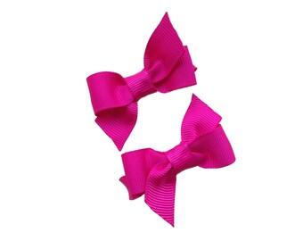 You pick color pigtail bows - hair bows, hair clips, baby bows, bows for girls, baby hair clips, girls hair bows, toddler bows