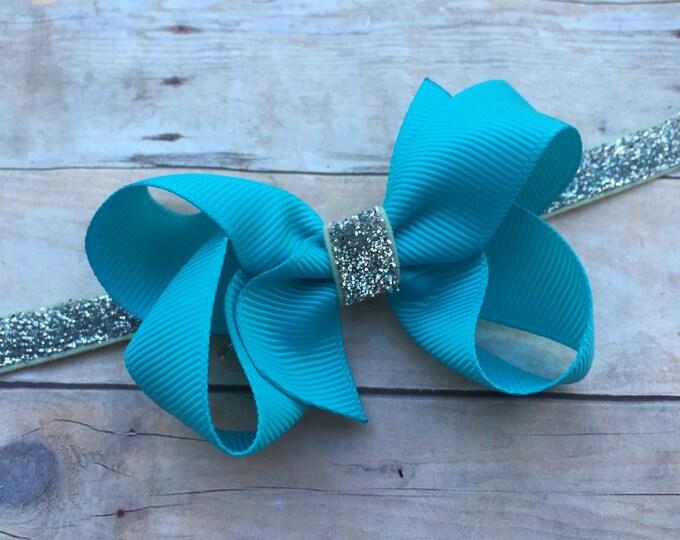 Baby headband - baby headband bows, newborn headbands, baby girl headbands, baby bows