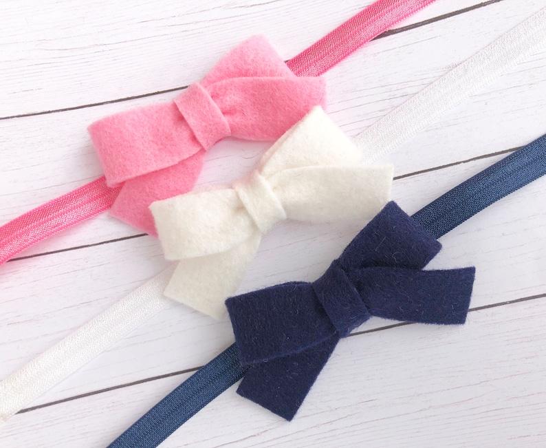 newborn headband baby girl headband baby headband bows baby bows Baby headbands baby bow headband bow headbands baby headband set