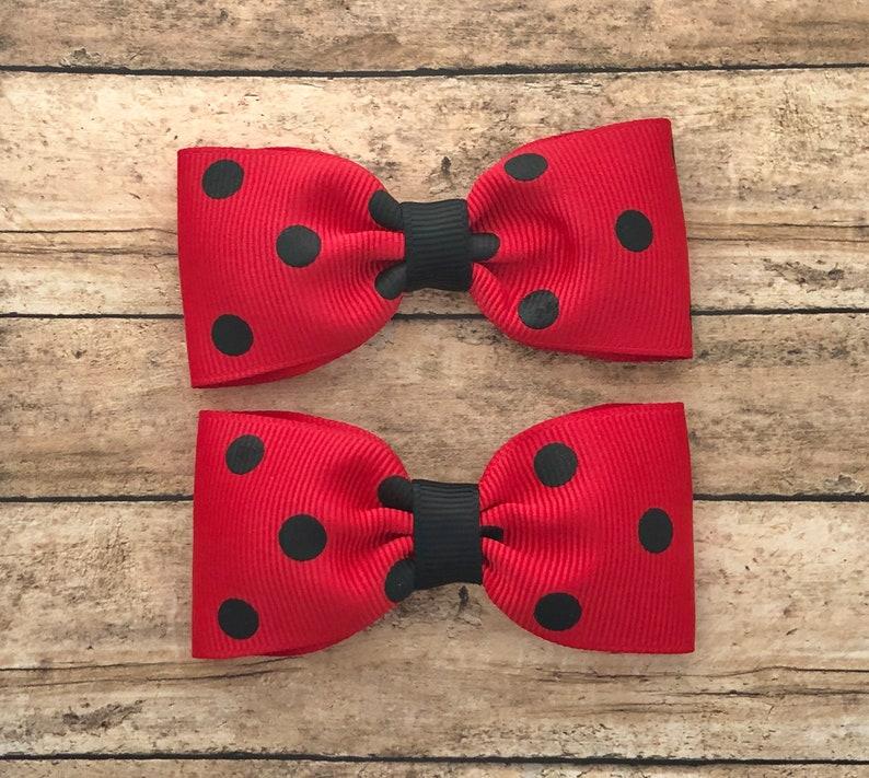 girls bows Pigtail bows toddler bows baby bows hair bows 3 inch hair bows hair clips