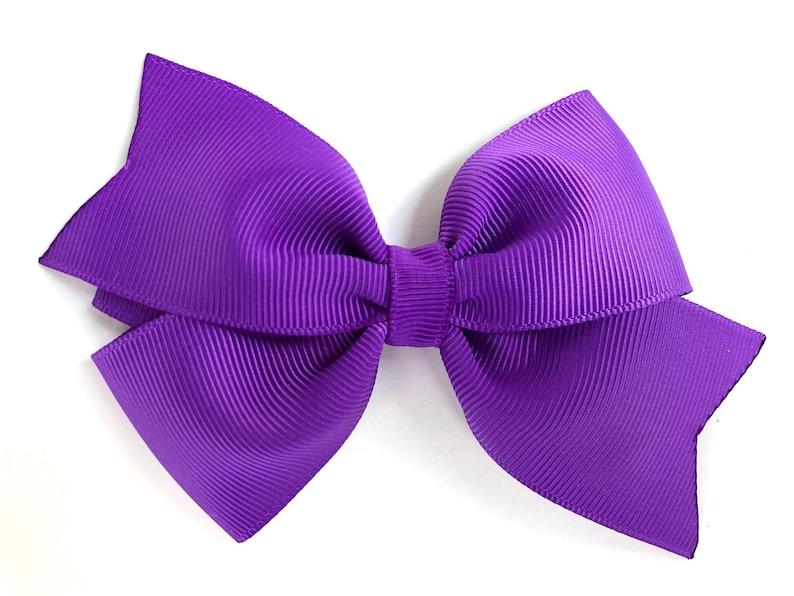 Kids' Clothes, Shoes & Accs. Hair Accessories Handmade 4 Inch Hair Clip Bow Lilac