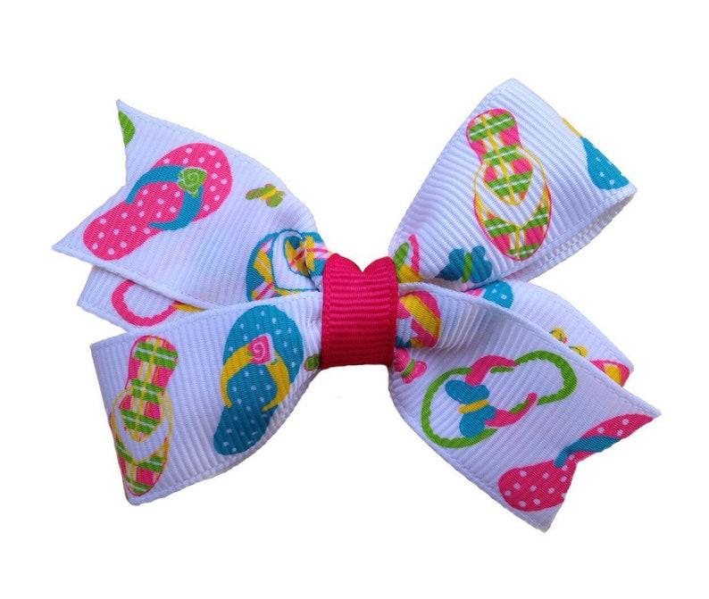 98bcf68d2 Flip flops hair bow hair bows bows for girls hair clips