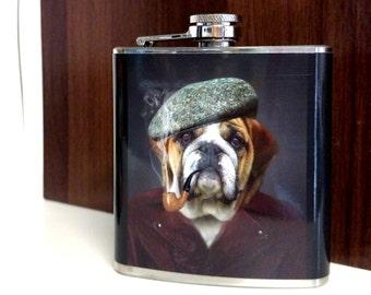 Dapper Dog Flask