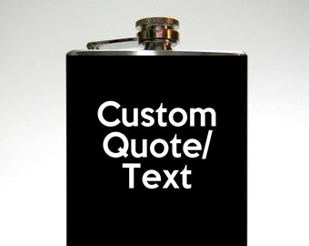 Custom Flask : Quote/Text