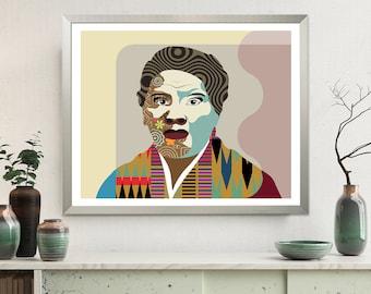 Harriet Tubman Art Civil Rights Black History African American Art