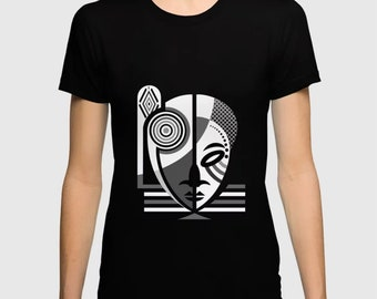 African T Shirt, Black Culture Afrocentric Clothing