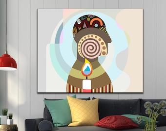 Inspirational Wall Art, Philosophy Art, Philosophy Decor, Philosophy Gift, Candle Wall Decor, Canvas Print, Pop Art Canvas, Pop Art Decor