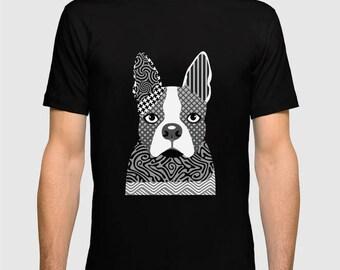 Boston Terrier Shirt, Boston Terrier Gifts,  Dog T Shirt, Dog Shirt, Animal T Shirt, Dog Lover Shirt, Dog Lover T Shirt, Dog Lover Gifts