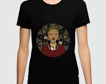 African American T Shirts, African T Shirt, Afrocentric T Shirts, Afro T Shirts, African Tops,  Afro Shirt, African Wear, African Woman