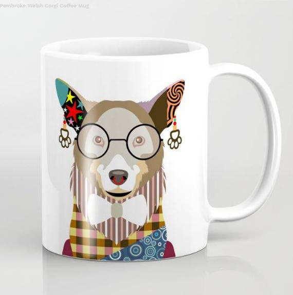 Corgi Mug, Corgi Gifts, Corgi Accessories, Corgi Lover Gift, Corgi Pembroke Welsh Mug, Animal Mug, Pet Gifts, Pet Mug, Dog Lover Mug