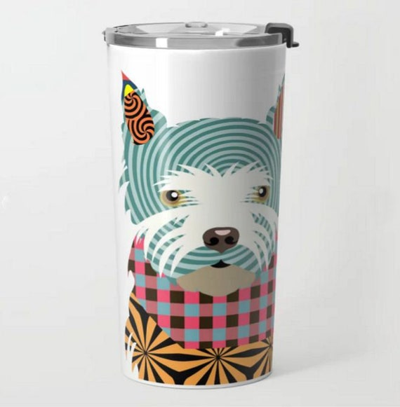 Westie Mug Travel Tumbler,  West Highland Terrier Gifts