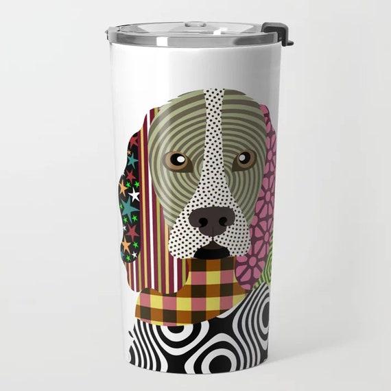 Cocker Spaniel Mug gifts, Dog Tumbler Stainless Steel