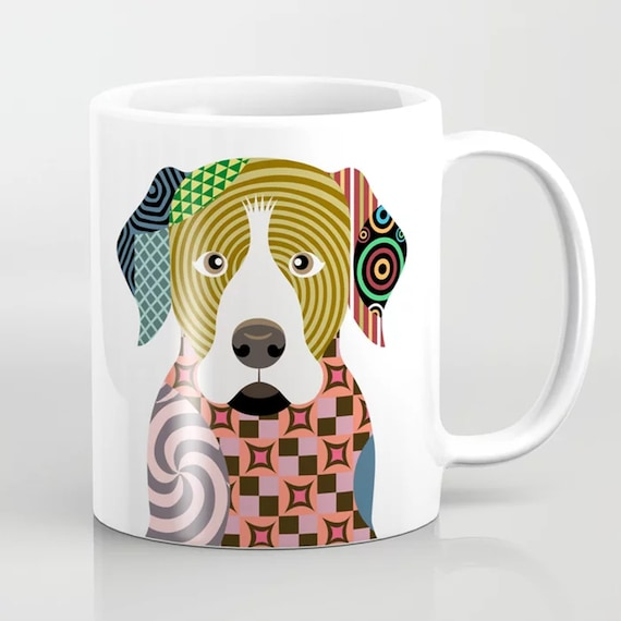 Rottweiler Mug, Rott Rottie Dog Ceramic Coffee Cup