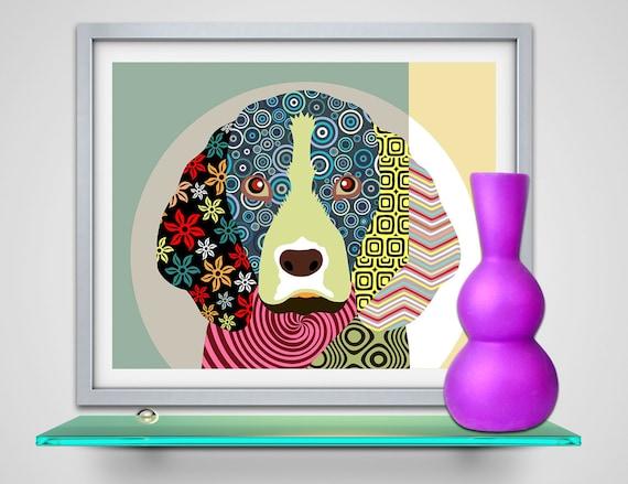 Beagle Art, Beagle Poster, Beagle Painting, Beagle Decor, Beagle Gifts, Beagle Drawing, Beagle Illustration, Pop Art Dog