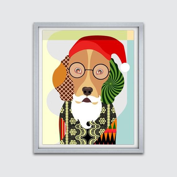 Dog Santa, Dog Christmas Gift, Dog Christmas Stocking Decor, Christmas Dog Accessories, Pet Christmas Stocking, Animal Christmas Stocking