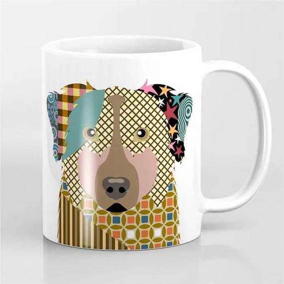 Australian Shepherd Mug, Aussie Gift Dog Cup
