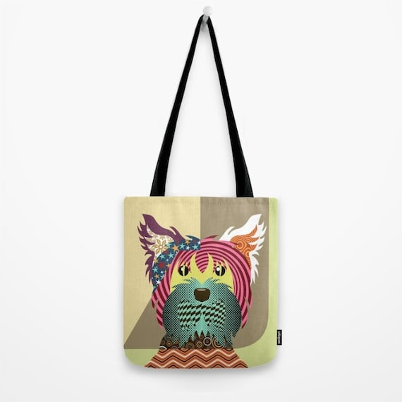 Yorkshire Terrier Bag, Yorkie Gift Tote